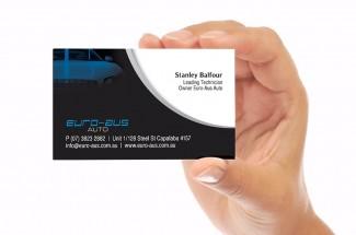 Euro-Aus Business Card Designs