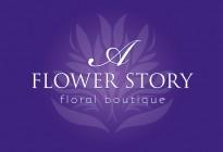 A Flower Story Logo Design