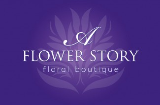 A Flower Story Logo Design