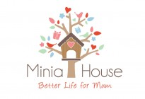 Minia House logo design