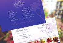 A Flower Story Postcard Design