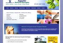 Natural Therapies website design